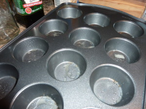 oil muffin pans