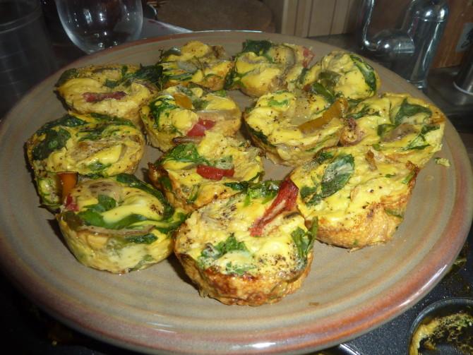 Egg White Muffin Bites Easy Version